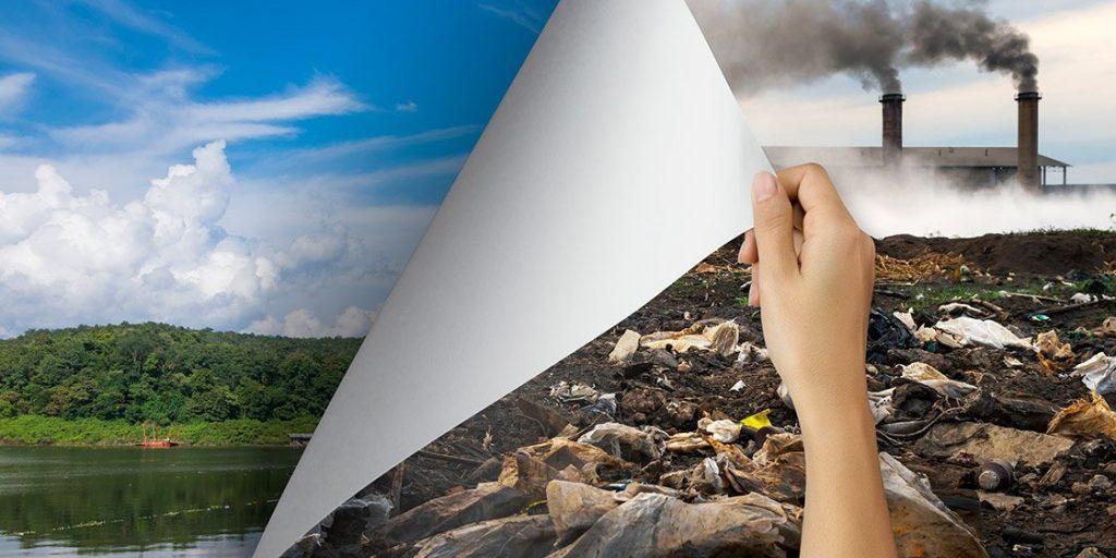 basta inquinamento ambientale
